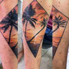 102 sunset tattoos ideas designs by artist