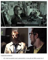 Supernatural Meme - castiel supernatural meme quirkybyte