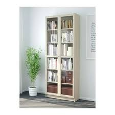 Sauder 3 Shelf Bookcase Bookcase 3 Shelf With Doors Sauder Library Contemporary Billy