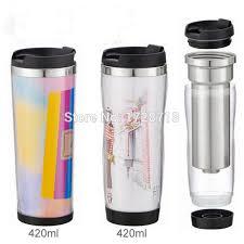 bicchieri di carta personalizzati pi禮 nuovo disegno 16 oz plastica tumbler con inserto di carta