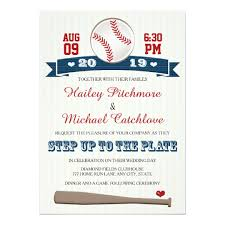 baseball wedding invitations jersey baseball themed wedding invitations zazzle
