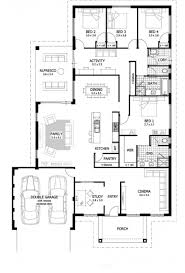 4 bed 3 bath house floor plans home design