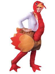 novelty ride on thanksgiving turkey fancy dress