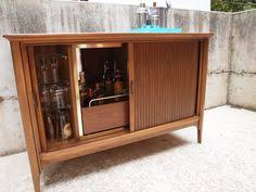 Buffet Bar Cabinet Reserved For Charles Mid Century Modern Broyhill Premier