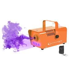 light o rama halloween halloween orange led fog machine with remote idjnow