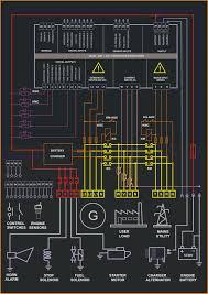 generator control panel wiring diagram wiring diagram and