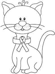printable ribbon cancer ribbon coloring page cancer ribbon coloring pages printable
