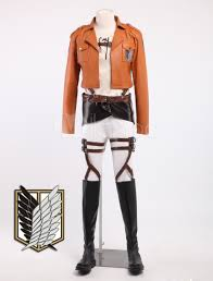 anime costume ideas to rock your halloween party attack on titan