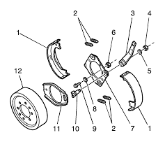 repair instructions propeller shaft parking brake camshaft