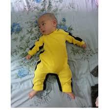 bruce yellow jumpsuit bruce baby romper 100 cotton baby jumpsuit newborn clothes
