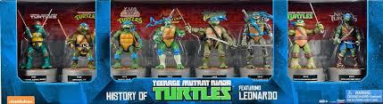 history teenage mutant ninja turtles featuring leonardo