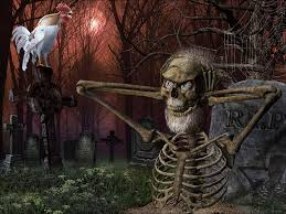 halloween background graveyard cemetery full hd wallpapers
