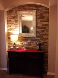 fake rock wall fake rock panels lowes brick wall covering painted