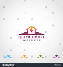 lighting bolt house logo icon stock vector 430208449 shutterstock