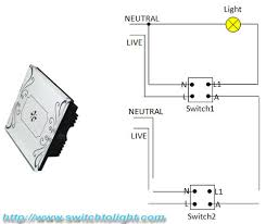 difference between traditional two way switch and electrical touch