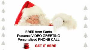 free call from santa free personal video greeting youtube