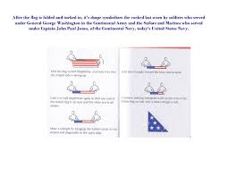 How To Fold A Flag Triangle In Service On The Home Front U0027 Sampling