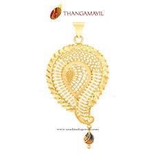 golden girl necklace images 22k gold designer gold pendant south india jewels jpg
