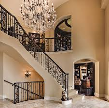 tuscan inspired home library comes full circle a design