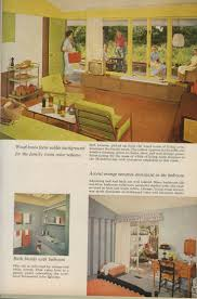 Home And Garden Interior Design 353 Best 1950 U0027s 1960 U0027s Images On Pinterest Vintage Interiors