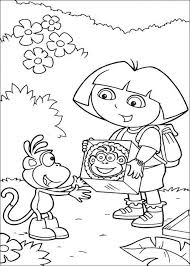 dora free coloring pages dora printable coloring pages stop