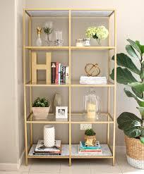 Glass Bookcases Bookshelf Amusing Metal Bookshelf Ikea Astounding Modern