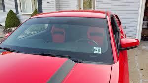 Black Red Mustang Speedform Mustang Black U0026 Red Racing Seats Pair 384433 79 14