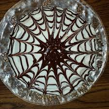 halloween spider web cake veggie prairie best chocolate cake spider web design
