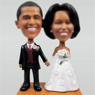 custom wedding cake toppers wedding cake bobbleheads bobblehead wedding cake toppers