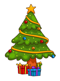 cute trees you can use this cute cartoon christmas tree clip art on your