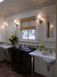 Bathrooms With Mirrors by Traditional Bathroom With Recessed Medicine Cabinet And Pedestal