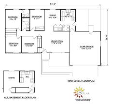 4 bedroom ranch floor plans simple ranch house plans 3 bedroom house floor plans simple ranch