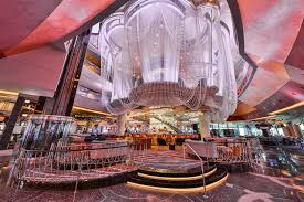 The Chandelier Renovated Chandelier Debuts At The Cosmopolitan Las Vegas Review