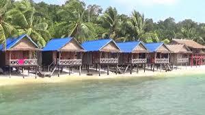 angkor chom bungalows sok san village koh rong island in