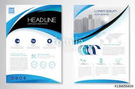 template vector design for brochure annual report magazine