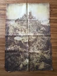 Dark Souls Map Lordran Cloth Map Darksouls