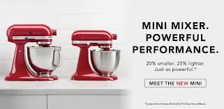 Mini Kitchen Aid Mixer by Official Kitchenaid Site Premium Kitchen Appliances