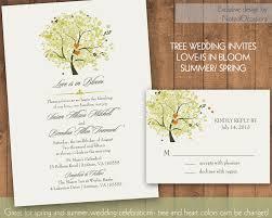 oak tree wedding invitations afoodaffair me