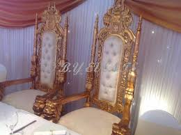 gold lion throne chairs hire only 150 gold wedding sofa white
