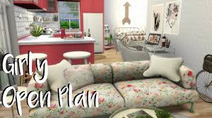 Open Plan Apartment by The Sims 4 Speed Build Girly Open Plan Apartment Cc Links