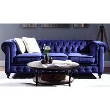 madison home tufted sofa madison home classic scroll arm tufted velvet chesterfield large