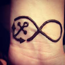henna tattoo infinitysign anchor things to remember