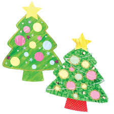 cardboard christmas tree cutouts cleverpatch