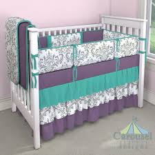 Grey Nursery Bedding Set by Nursery Beddings Purple And Teal Baby Bedding Together With