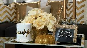 Silver And Gold Home Decor by Fall Home Decor Haul Homegoods Tjmaxx Zgallerie Target And