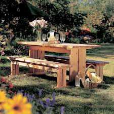 Wood Plans Outdoor Table by 100 Best Picnic Table Plans Images On Pinterest Picnic Table