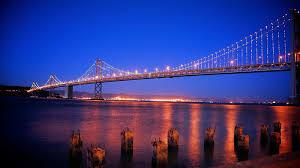 Bay Bridge Lights City And Landscapes Nando U0027s Photography