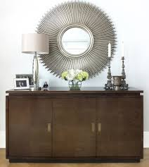 home interiors mirrors credenza mirror modern living room new york by david