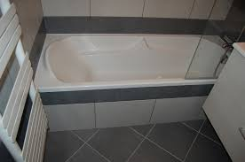 pose faience cuisine pose de faïence 25x40 dans une salle de bains lyon rhône 69