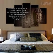 deco chambre bouddha hd imprimé abstrait de bouddha peinture sur toile chambre